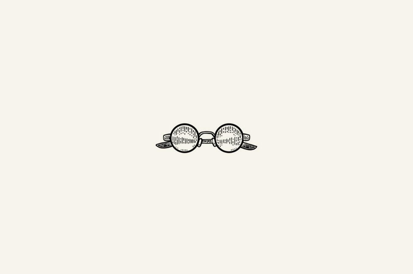 illustration of Ben Franklin's spectacles.