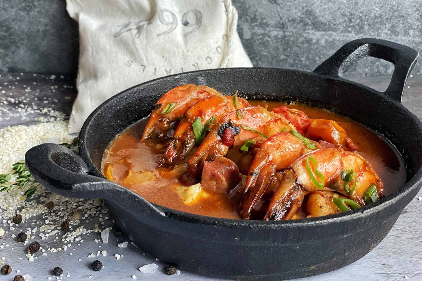 Shrimp and grits at 1799, Downtown Franklin Hotel, The Harpeth Hotel