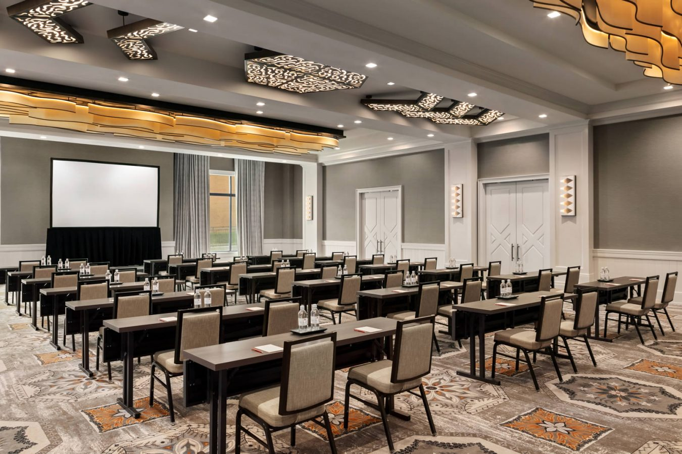 Riverside Ballroom Business Meeting setup