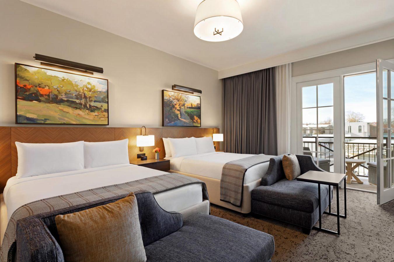 Two queen beds in standard room