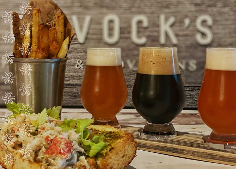 lobster roll and craft beers at McGavock's in Franklin, TN
