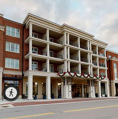 Virtual tour at The Harpeth Hotel, Downtown Franklin